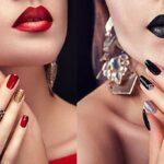 verschiedene nagellackfarben